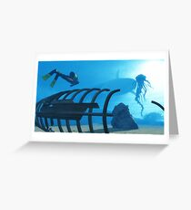 Fonds marins / Seabed Greeting Card