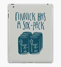 The Swimmer Has a Six-Pack (Dark Teal) iPad Case/Skin