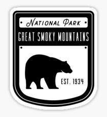 Great Smoky Mountains National Park - Tennessee Sticker