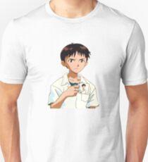 Shinji with Shinji Mug Unisex T-Shirt