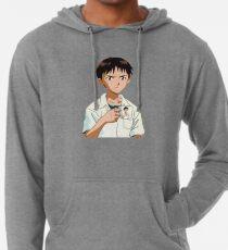 Shinji with Shinji Mug Lightweight Hoodie
