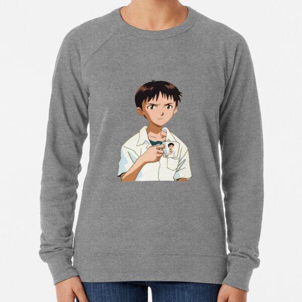 Shinji with Shinji Mug Lightweight Sweatshirt