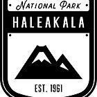 Haleakala Nationalpark Hawaii Abzeichen von nationalparks
