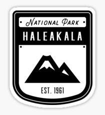 Haleakala National Park Hawaii Badge Sticker