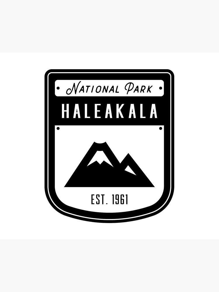 Haleakala Nationalpark Hawaii Abzeichen von nationalparks