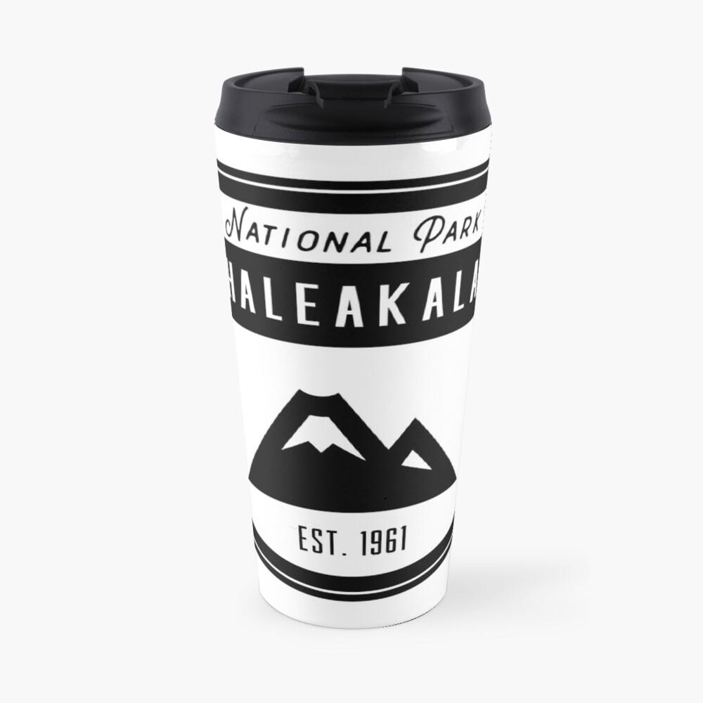 Haleakala Nationalpark Hawaii Abzeichen Thermobecher