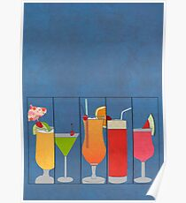 Fruit Drinks Poster
