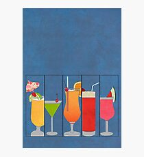 Fruit Drinks Photographic Print