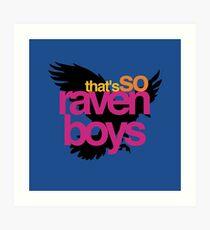 That's So Raven Boys Art Print