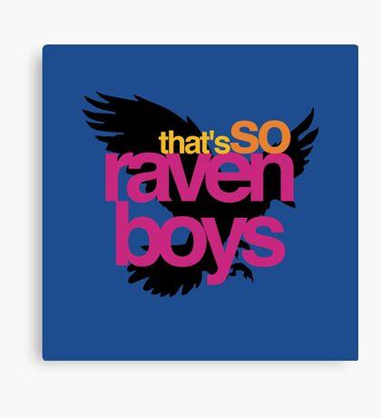 That's So Raven Boys Canvas Print