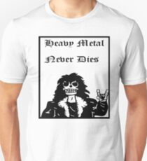 Heavy Metal Never Dies Unisex T-Shirt