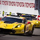 Team Corvette C7R Battling For First and Second! by HnatAutomotive