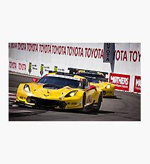 The Battle for 1st and 2nd - Long Beach Grand Prix Photographic Print