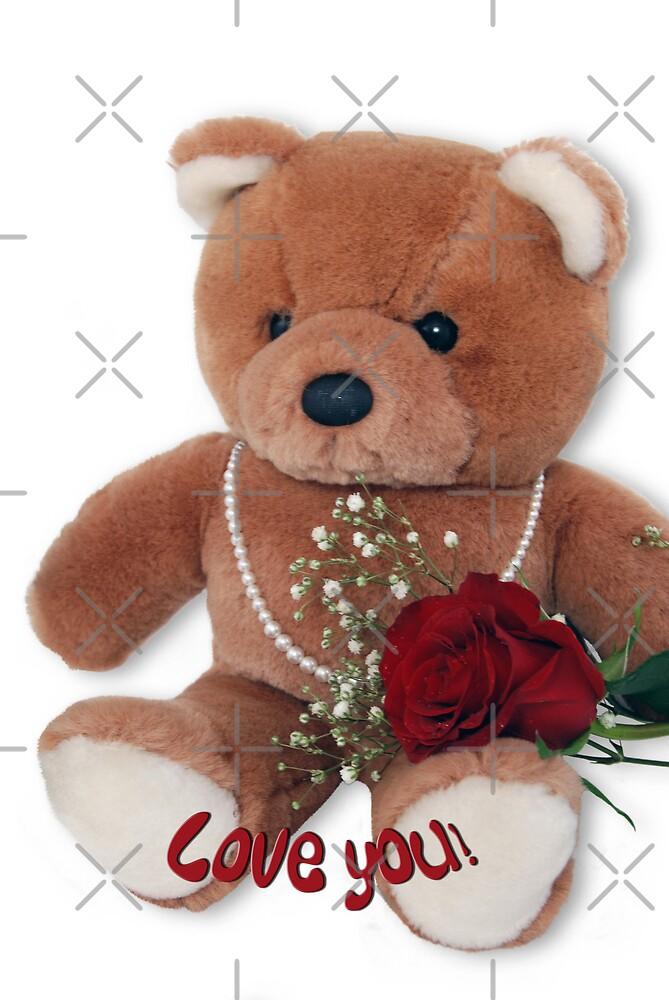 Teddy Bear Love by Maria Dryfhout