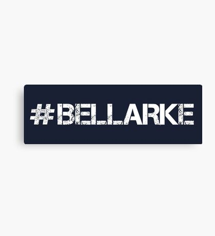 #BELLARKE (White Text) Canvas Print