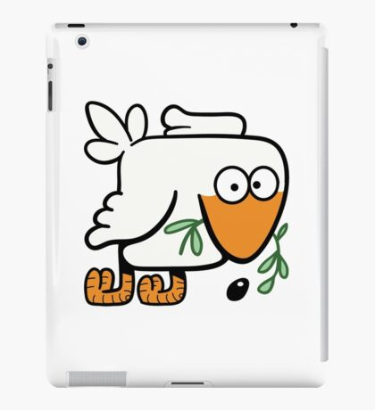 Dove with Olive Branch of Peace iPad Case/Skin