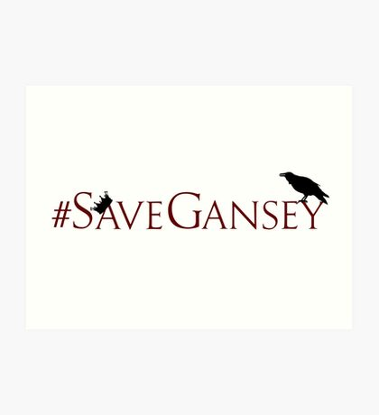 #SaveGansey Art Print