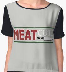 Meat Cute Chiffon Top