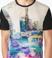 Purple Reign Brisbane City Graphic T-Shirt
