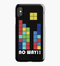 No Way!! iPhone Case/Skin