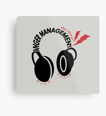 Anger Management: The Show Metal Print