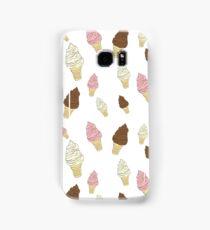 Neapolitan Ice Cream Cones Samsung Galaxy Case/Skin
