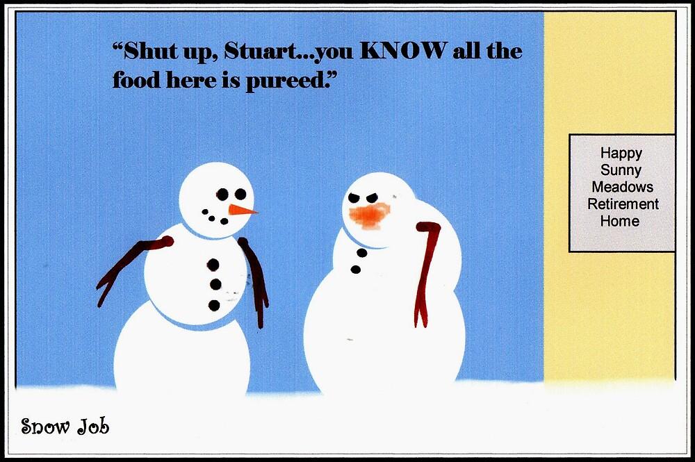 """Snow Job"" - Nursing Home by ComicMom"