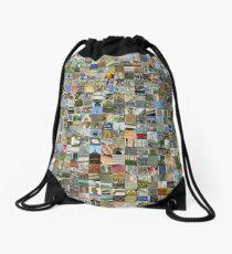 Paris, France Drawstring Bag