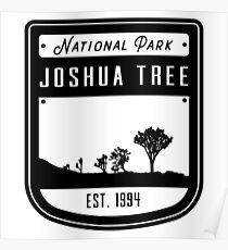 Joshua Tree National Park California Badge Poster