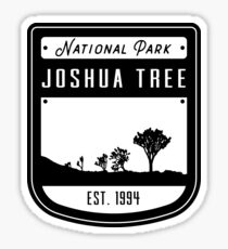 Joshua Tree National Park California Badge Sticker