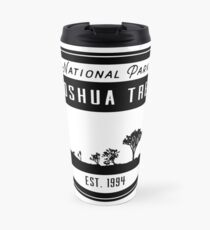 Joshua Tree National Park California Badge Travel Mug