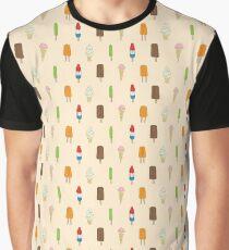 Ice Cream & Popsicles Graphic T-Shirt
