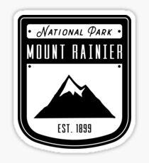 Mount Rainier National Park Washington Badge Sticker