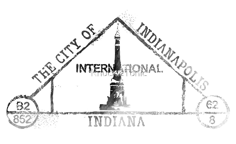 Indianapolis Passport  by KnuckleTonic