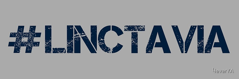 #LINCTAVIA (Navy Text) by 4everYA