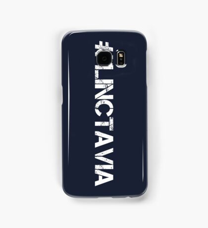 #LINCTAVIA (White Text) Samsung Galaxy Case/Skin