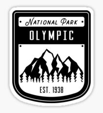 Olympic National Park Washington Badge Sticker