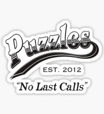 "How I met your Mother - Puzzles ""No Last Calls"" Sticker"
