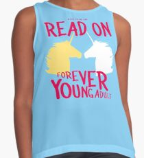 Keep Calm and Read On, FYA Contrast Tank