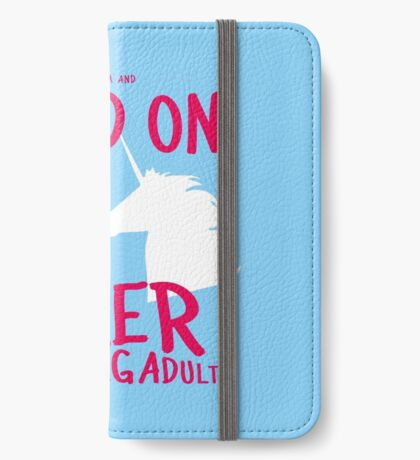 Keep Calm and Read On, FYA iPhone Wallet