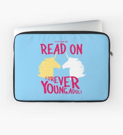 Keep Calm and Read On, FYA Laptop Sleeve
