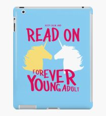 Keep Calm and Read On, FYA iPad Case/Skin