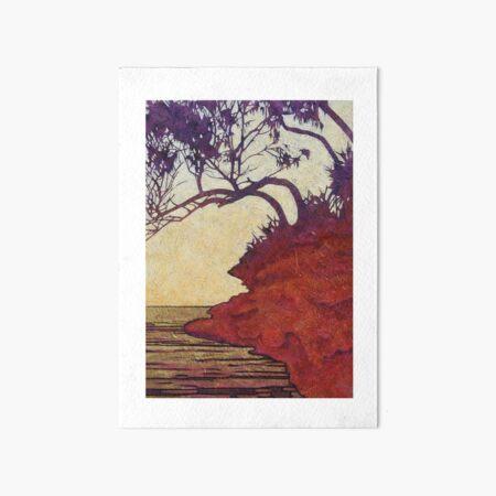 Red Cliff She-Oak Art Board Print