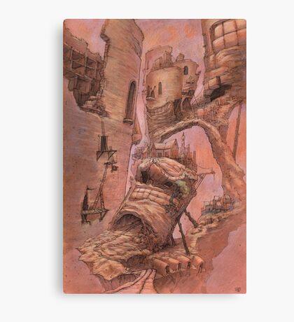 The Blockhouse Trap Canvas Print