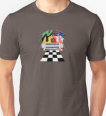 Vintage Indy 500 Poster recreated by MotorManiac Unisex T-Shirt