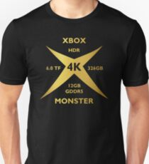 Xbox Monster Gold Unisex T-Shirt