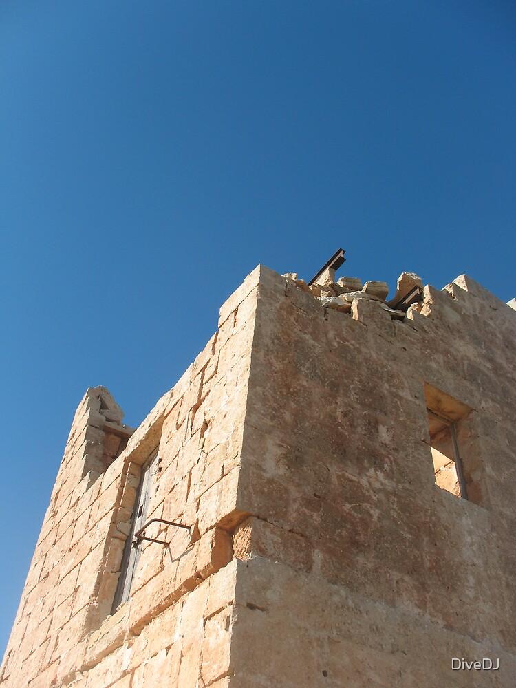 Malta Ruins by DiveDJ