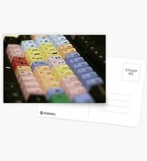 Avid Keyboard Medium Shot Postcards