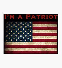American Patriot Photographic Print