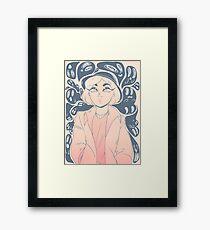 Ghost Gal Framed Print